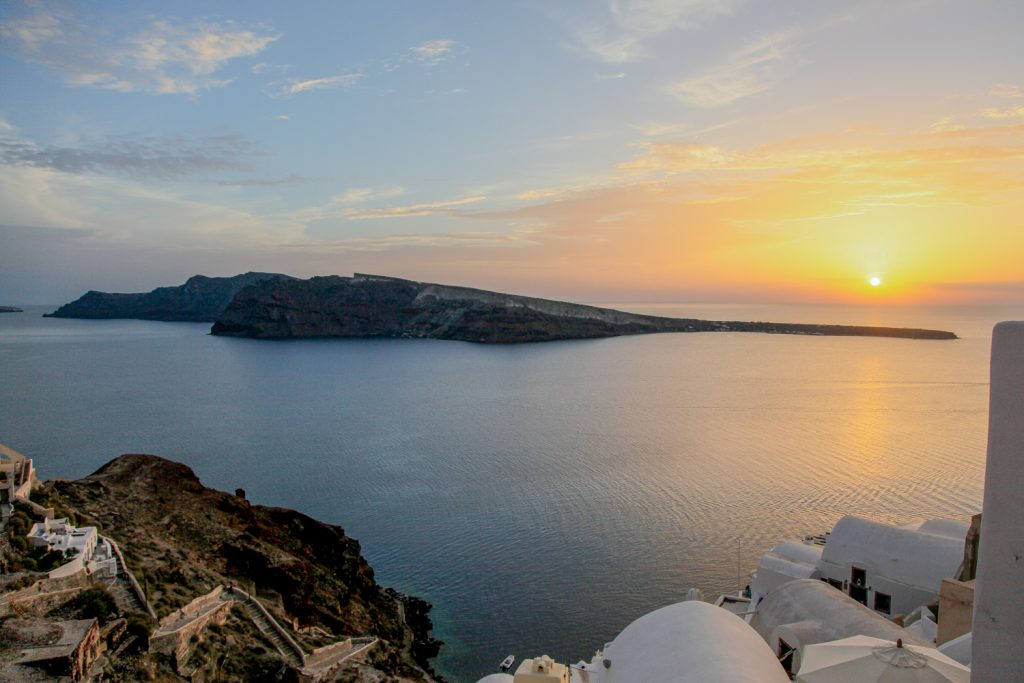 Sonnenuntergang in Oia