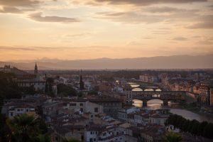 Ausblick vom Piazza Michelangelo
